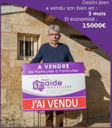 Jean a vendu sa maison en 3 mois et économisé 15 000 euros avec Mon Aide Immobilière