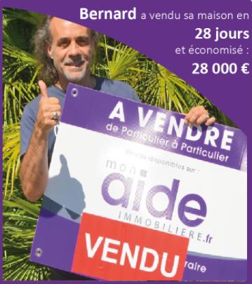 Bernard a vendu sa maison en 28 jours et économisé 28 000 euros.