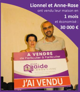 Lionnel et Anne-Rose ont vendu leur maison en 1 mois et économisé 30 000 euros